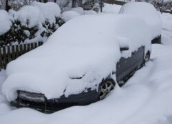 Auto przed zimą