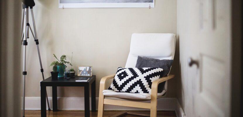 Krzesło bujane do wnętrza