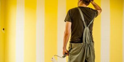 Jak pomalować wysokie pomieszczenia?